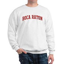 BOCA RATON (red) Sweatshirt