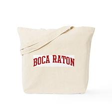 BOCA RATON (red) Tote Bag