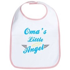Oma's Little (Boy) Angel Bib