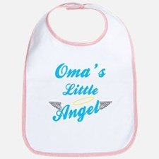 Oma's Little (Boy) Angel Bib