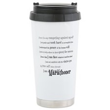 Unique Half marathon Travel Mug