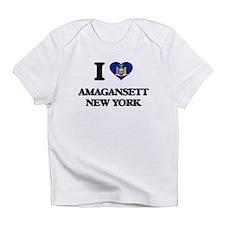 I love Amagansett New York Infant T-Shirt
