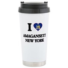I love Amagansett New Y Travel Mug