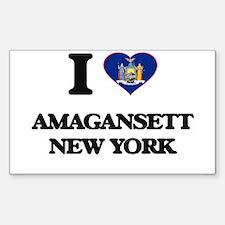 I love Amagansett New York Decal