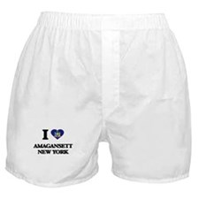 I love Amagansett New York Boxer Shorts