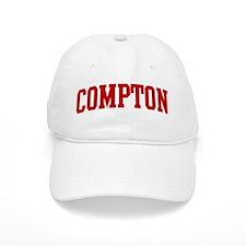 COMPTON (red) Baseball Cap