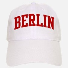 BERLIN (red) Baseball Baseball Cap