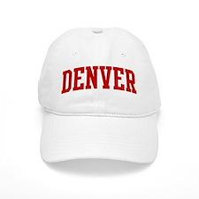 DENVER (red) Baseball Cap