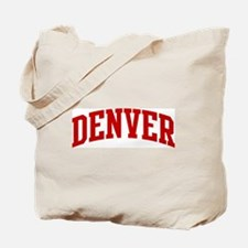 DENVER (red) Tote Bag