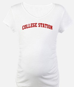 COLLEGE STATION (red) Shirt