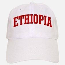 ETHIOPIA (red) Baseball Baseball Cap