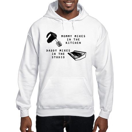 Mixing Hooded Sweatshirt