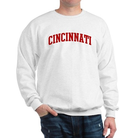 CINCINNATI (red) Sweatshirt