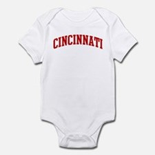 CINCINNATI (red) Infant Bodysuit