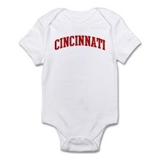CINCINNATI (red) Onesie