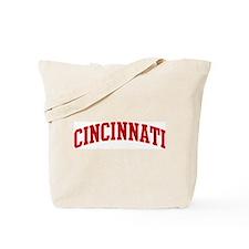CINCINNATI (red) Tote Bag