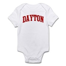 DAYTON (red) Infant Bodysuit