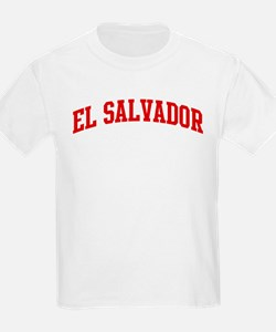 EL SALVADOR (red) T-Shirt