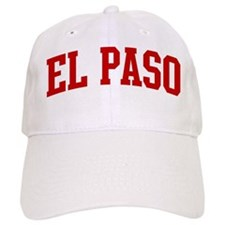 EL PASO (red) Baseball Cap