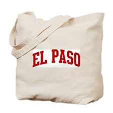 EL PASO (red) Tote Bag
