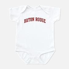 BATON ROUGE (red) Infant Bodysuit