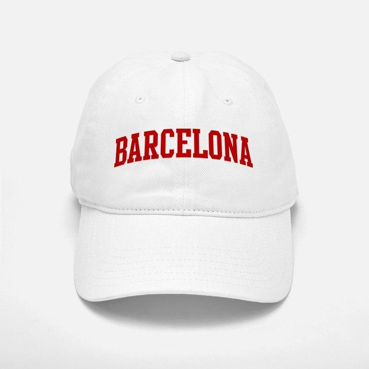 BARCELONA (red) Baseball Baseball Cap