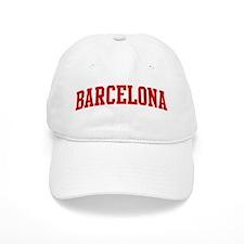 BARCELONA (red) Baseball Cap