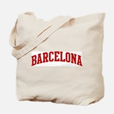 BARCELONA (red) Tote Bag