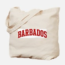 BARBADOS (red) Tote Bag