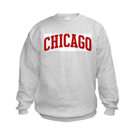 CHICAGO (red) Kids Sweatshirt