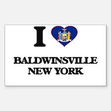 I love Baldwinsville New York Decal