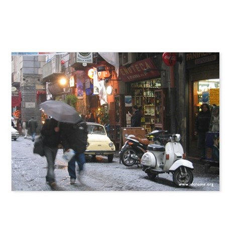 Naples in the Snow Postcards (Package of 8)