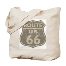 Vintage Route66 Tote Bag