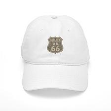 Vintage Route66 Baseball Cap