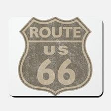 Vintage Route66 Mousepad