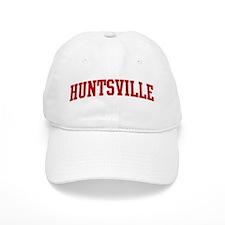 HUNTSVILLE (red) Baseball Cap