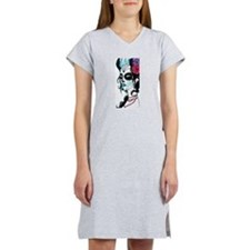 Sugar Skull 020 Women's Nightshirt