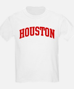 HOUSTON (red) T-Shirt