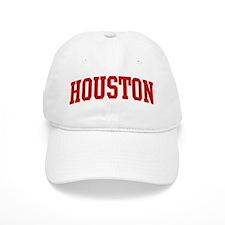 HOUSTON (red) Baseball Cap