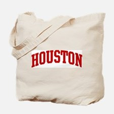 HOUSTON (red) Tote Bag