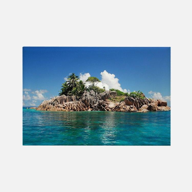 Tropical Island Magnets