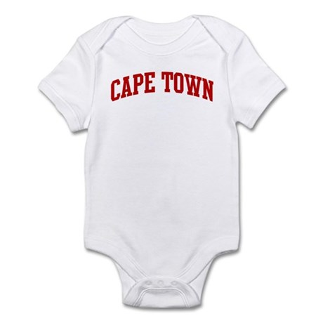 CAPE TOWN (red) Infant Bodysuit