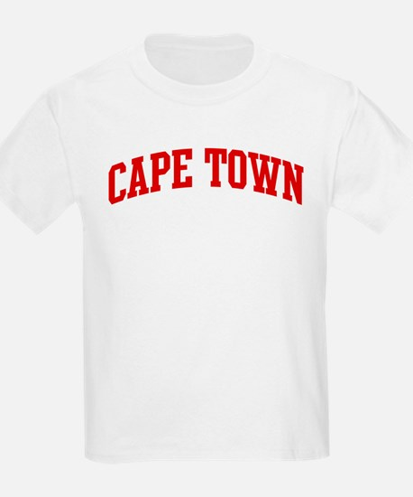 CAPE TOWN (red) T-Shirt