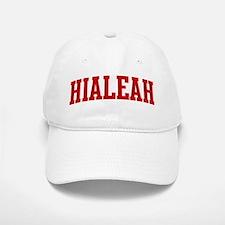 HIALEAH (red) Baseball Baseball Cap