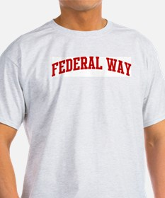 FEDERAL WAY (red) T-Shirt
