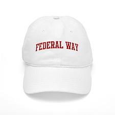FEDERAL WAY (red) Baseball Cap