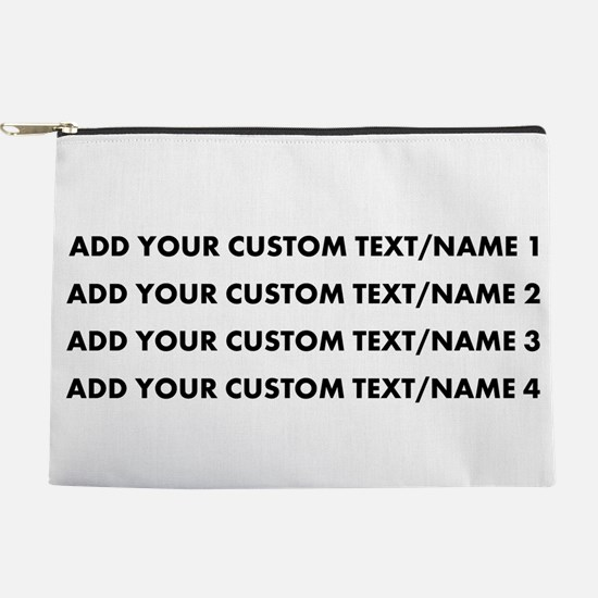 Add Custom Text/Name Makeup Pouch