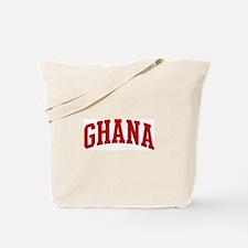 GHANA (red) Tote Bag