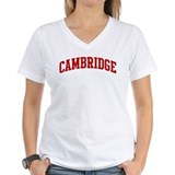 Cambridge university Womens V-Neck T-shirts