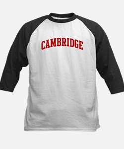 CAMBRIDGE (red) Kids Baseball Jersey